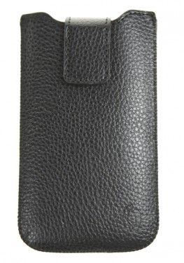 Pouzdro VIP Collection velikost iPhone 4 BLACK, 0040