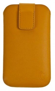 Pouzdro VIP Collection velikost iPhone 4 ORANGE, 0039