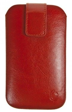 Pouzdro VIP Collection velikost iPhone 4 RED, 0020
