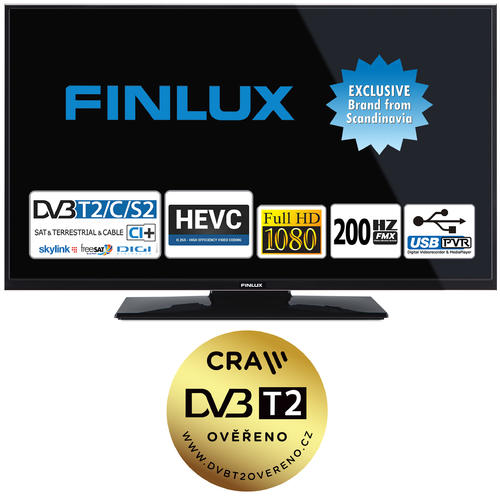 Finlux TV43FFC4660 - FULL HD T2 SAT