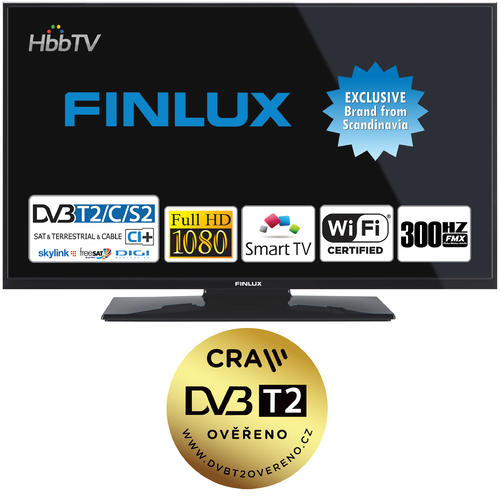 Finlux TV43FFC5660 - T2 SAT HBB TV SMART WIFI