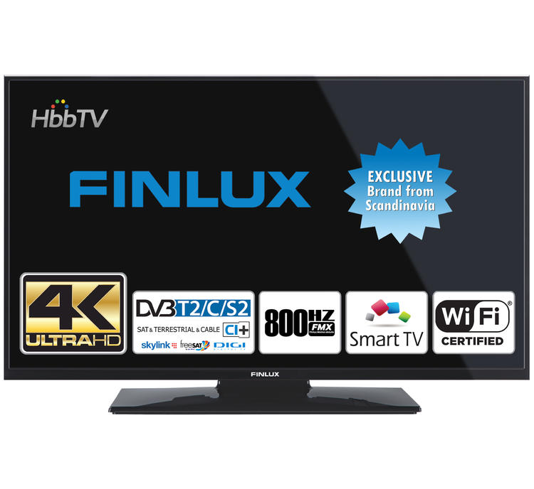 Finlux TV43FUC7060 - UHD SAT/ T2 SMART WIFI