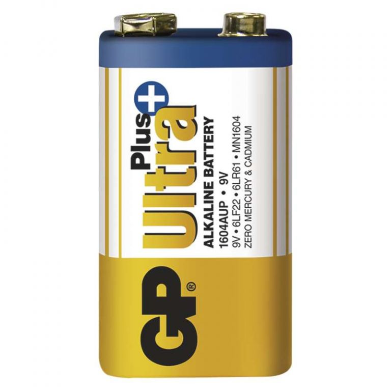 Alkalická baterie GP Ultra Plus 6LF22 (9V), 1 ks