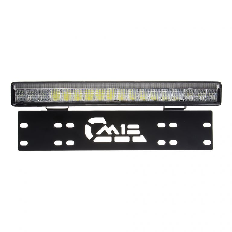 LED rampa pod SPZ, 18x3W, 380mm, R112