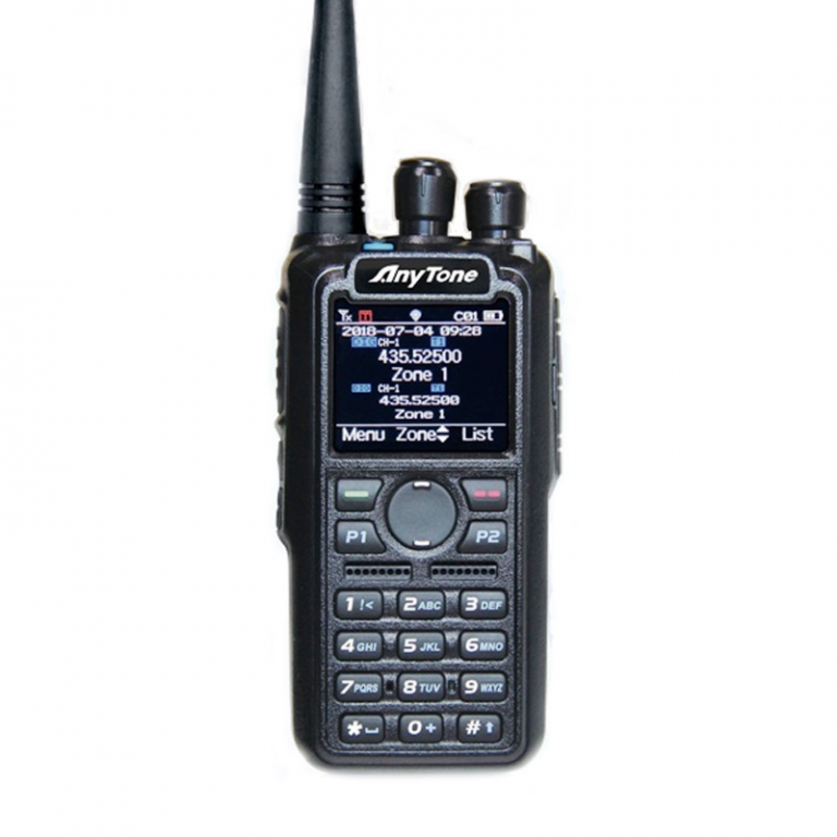 ANYTONE D878UV plus BT, dual-band DMR, GPS, BT, USB kabel, 3100mAh baterie