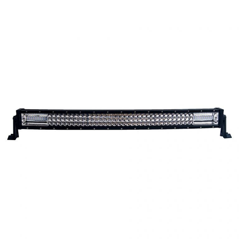 LED rampa prohnutá, 126x3W, 762mm, ECE R10