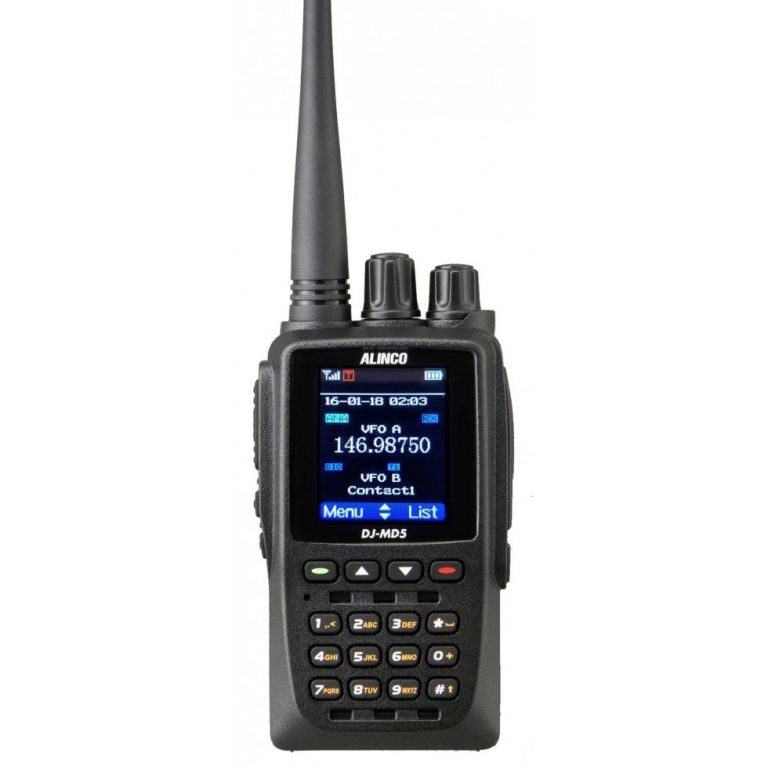 ALINCO DJ-MD5, dual-band DMR, GPS