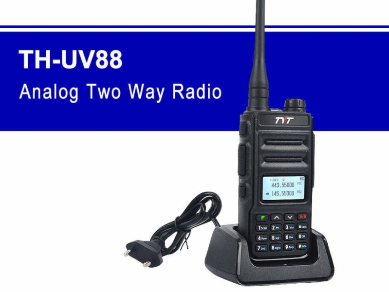 Radiostanice TYT TH-UV88 dualband
