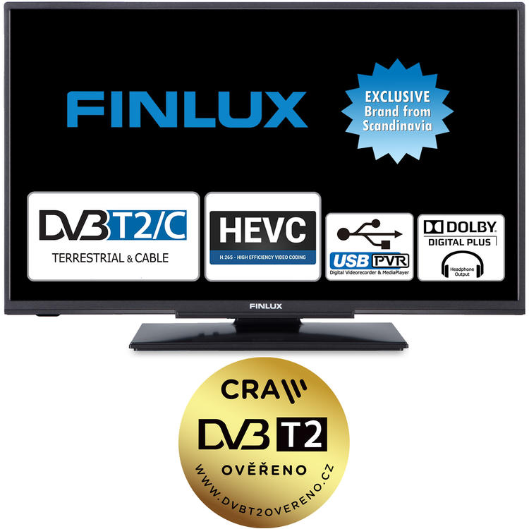 Finlux TV24FHE4220 - ULTRATENKÁ T2