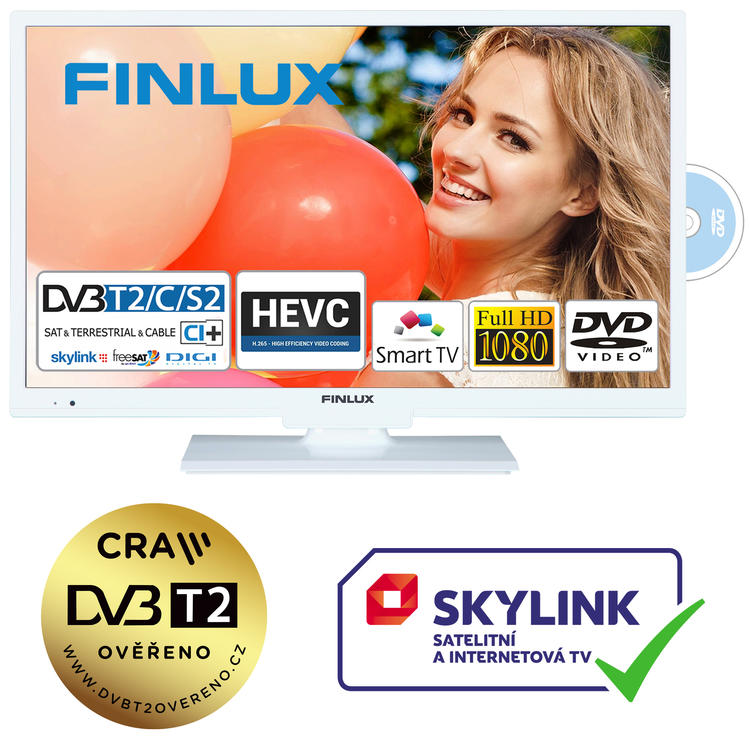 Finlux TV22FWDF5161 - T2 SAT DVD SMART HBBtv